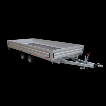 Twin-axle trailer transport things