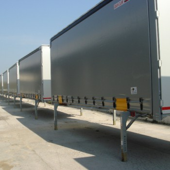 Caisses mobiles pour le transport intermodal