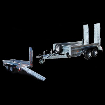 Twin axle heavy duty and general duty trailer