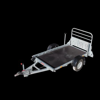 Motorbike - quad - general duty low-bed platform trailer
